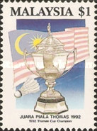 [Malaysian Victory in Thomas Cup Badminton Championship, Typ OV]