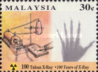 [The 100th Anniversary of Discovery of X-Rays by Wilhelm Conrad Rontgen, Typ SA]
