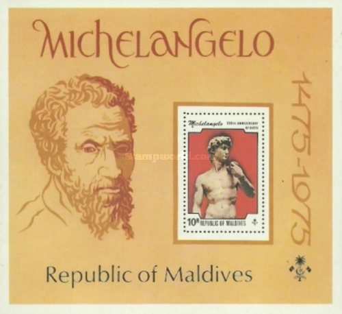 [The 500th Anniversary of the Birth of Michelangelo Buonarroti, Typ ]