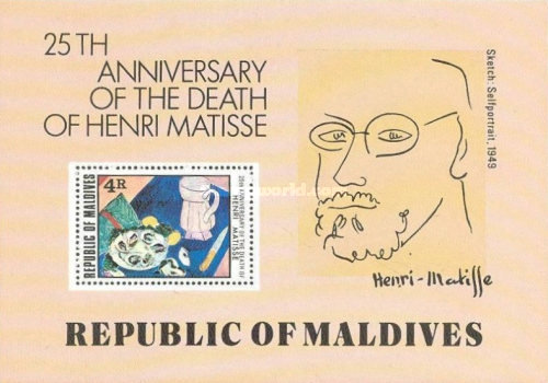[The 25th Anniversary of the Death of Henri Matisse, Typ ]