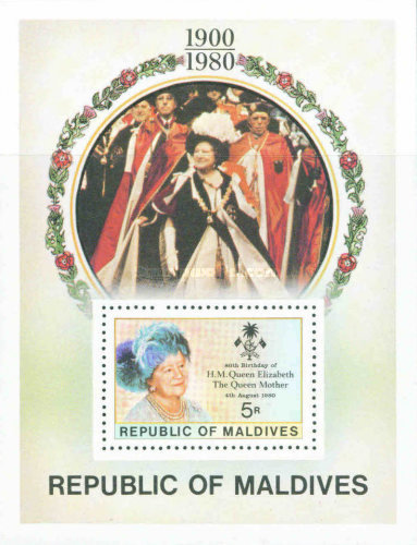 [The 80th Anniversary of the Birth of Elizabeth the Queen Mother, 1900-2002, Typ ]