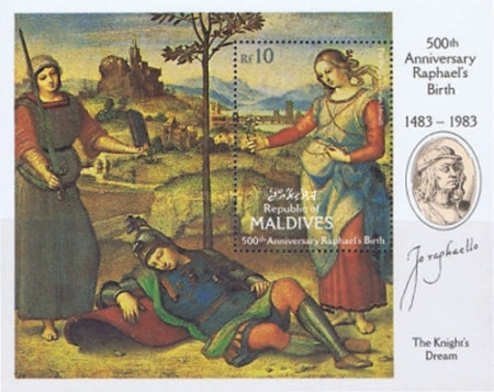 [The 500th Anniversary of the Birth of Raphael, 1483-1520, Typ ]