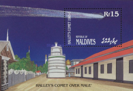 [Appearance of Halley's Comet, Typ ]