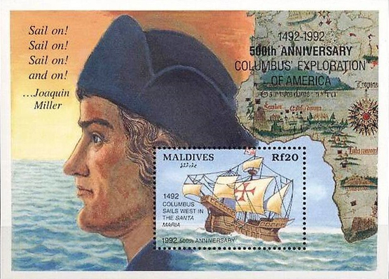 [The 500th Anniversary of Discovery of America, Typ ]
