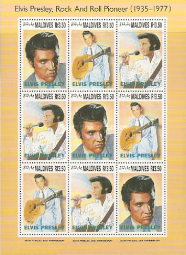 [The 15th Anniversary of the Death of Elvis Presley, 1935-1977, Typ ]