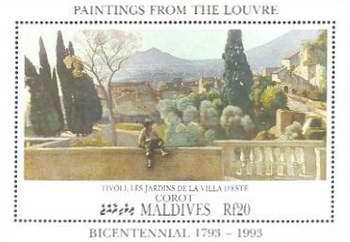 [The 200th Anniversary of Louvre Museum, Paris, France, Typ ]
