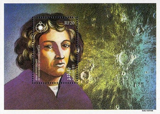 [The 450th Anniversary of the Death of Nicolaus Copernicus, Astronomer, 1473-1543, Typ ]