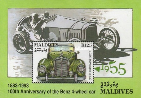 [The 100th Anniversary of Karl Benz's First Four-wheeled Car, Typ ]