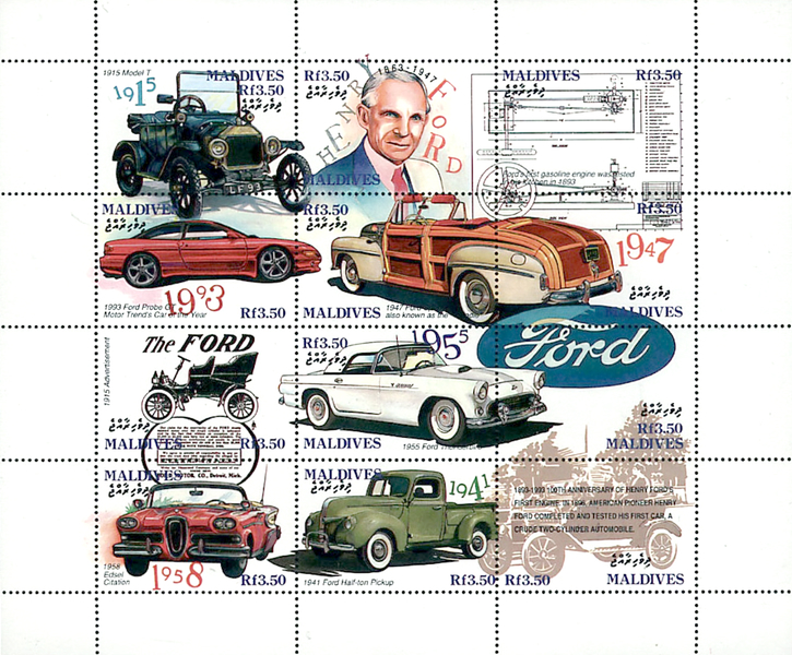 [The 100th Anniversary of Henry Ford's First Petrol Engine, Typ ]