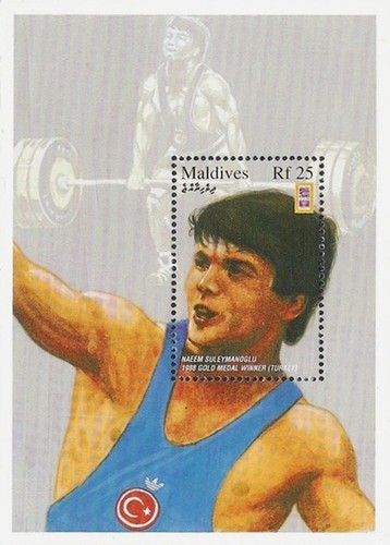 [Olympic Games - Atlanta, USA - Gold Medalist in Weightlifting, Typ ]