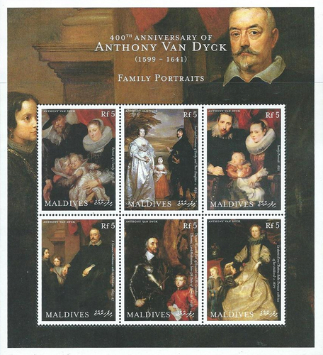 [The 400th Anniversary of the Birth of Sir Anthony Van Dyck, 1599-1641, type ]