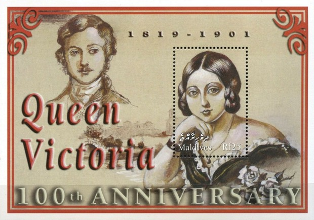 [The 100th Anniversary of the Death of Queen Victoria, 1819-1901, type ]