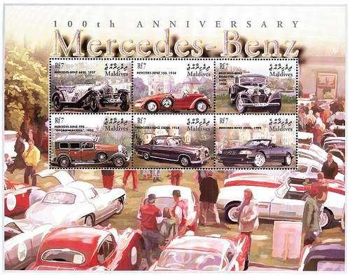 [The 100th Anniversary of Mercedes-Benz Cars, type ]
