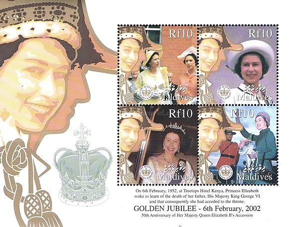 [The 50th Anniversary of Reign of Queen Elizabeth II, type ]