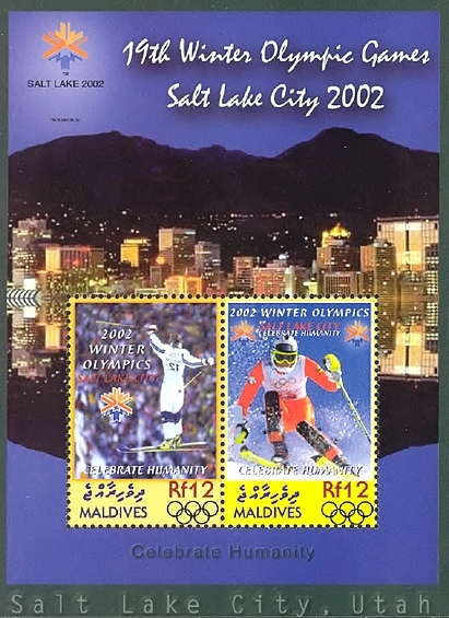 [Winter Olympic Games - Salt Lake City, U.S.A., type ]