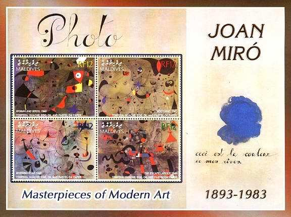 [The 20th Anniversary of the Death of Joan Miro, 1893-1983, type ]