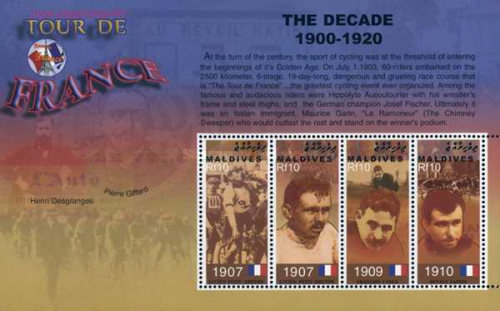 [The 100th Anniversary of Tour de France Cycle Race - Past winners, type ]