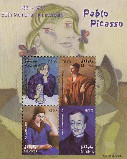 [The 30th Anniversary of the Death of Pablo Picasso, Artist, 1881-1973, type ]
