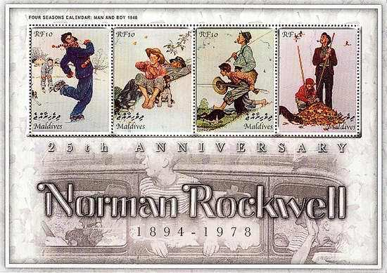 [The 25th Anniversary of the Death of Norman Rockwell, 1894-1978, type ]