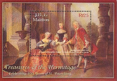 """[The 300th Anniversary of St. Petersburg - """"Treasures of the Hermitage"""", type ]"""