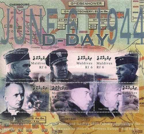 [The 60th Anniversary of D-Day Landings, type ]