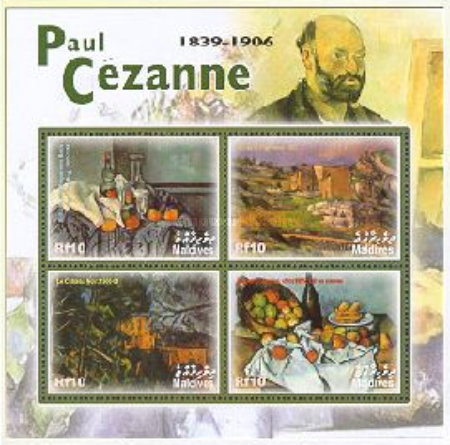 [The 165th Anniversary of the Birth of Paul Cezanne, 1839-1906, type ]