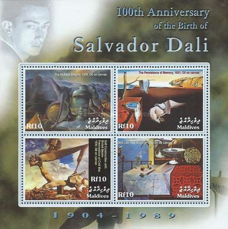 [The 100th Anniversary of the Birth of Salvador Dali, 1904-1989, type ]