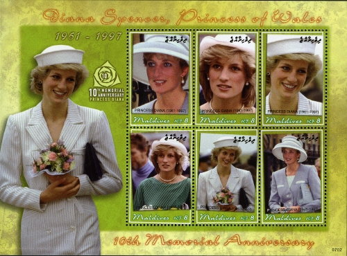 [The 10th Anniversary of the Death of Princess Diana, Typ ]