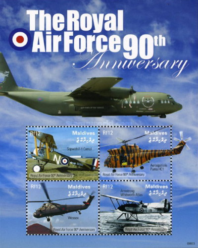 [The 90th Anniversary of the Royal Air Force - RAF, Typ ]