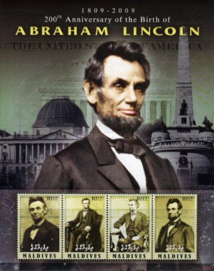 [The 200th Anniversary of the Birth of Abraham Lincoln, 1819-1865, type ]
