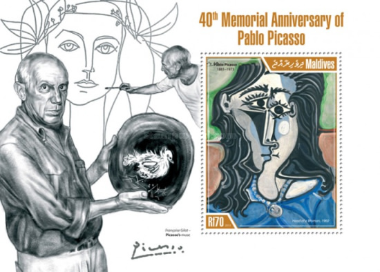 [Paintings - The 40th Anniversary of the Death of Pablo Picasso, 1881-1973, Typ ]