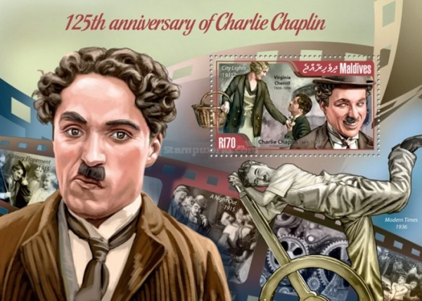 [The 125th Anniversary of Charlie Chaplin, 1889-1977, Typ ]