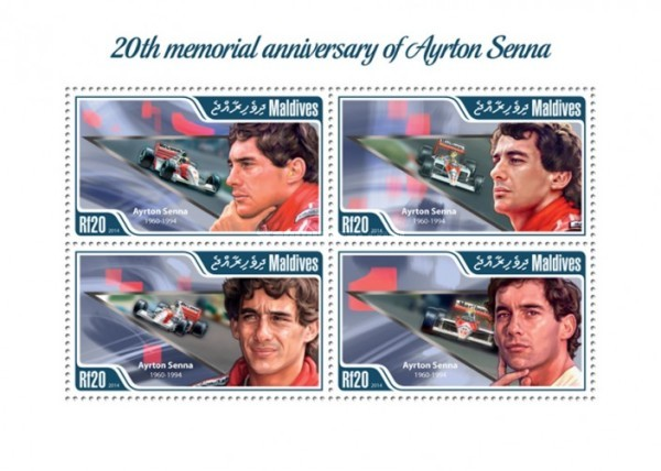 [Sports - The 20th Anniversary of the Death of Ayrton Senna, 1960-1994, Typ ]