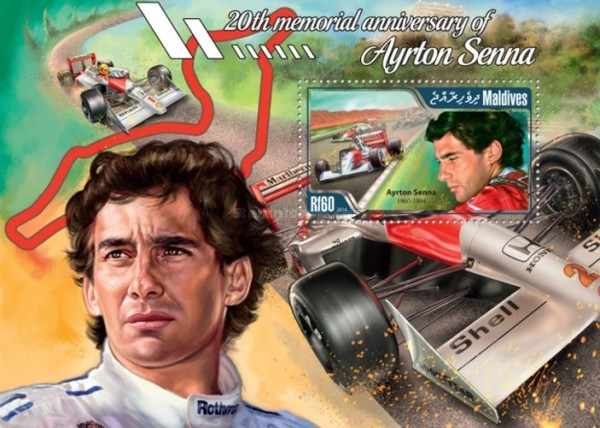 [Sports - The 20th Anniversary of the Death of Ayrton Senna, 1960-1994, type ]