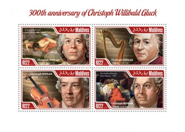 [The 300th Anniversary of Birth of Christoph Willibald Gluck, 1714-1787, Typ ]