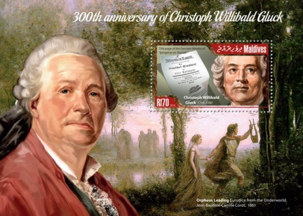 [The 300th Anniversary of Birth of Christoph Willibald Gluck, 1714-1787, type ]