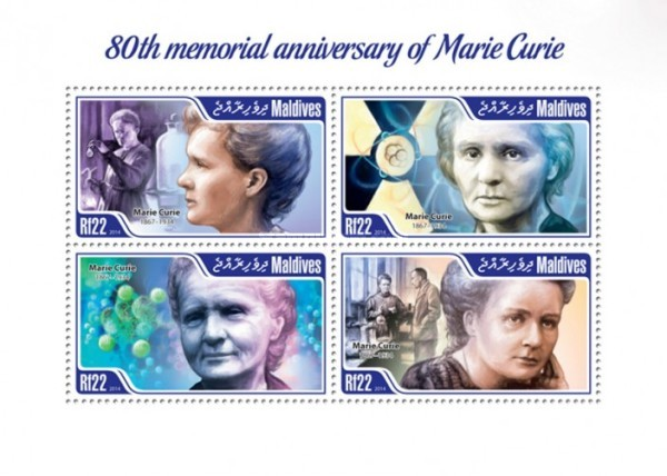 [The 80th Anniversary of the Death of Marie Curie, 1867-1934, Typ ]
