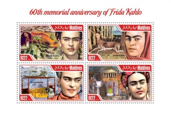 [Paintings - The 60th Anniversary of the Death of Frida Kahlo, 1907-1954, Typ ]