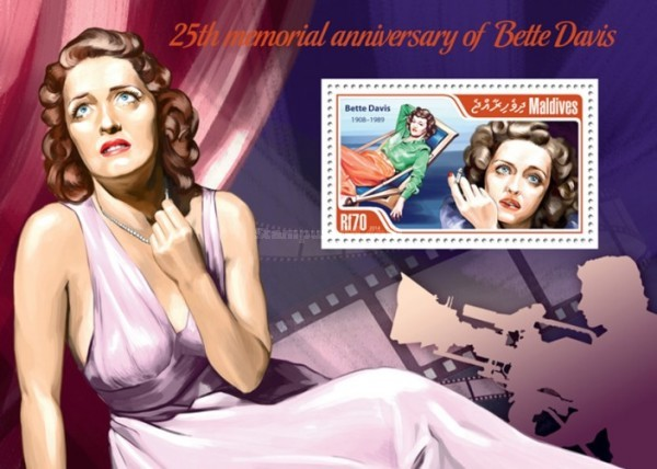 [The 25th Anniversary of the Death of Bette Davis, 1908-1989, Typ ]