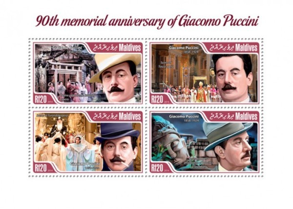 [The 90th Anniversary of the Death of Giacomo Puccini, 1858-1924, type ]