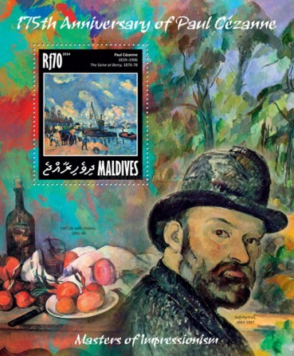 [Paintings - Masters of Impressionism - The 175th Anniversary of the Birth of Paul Cezanne, 1839-1906, type ]