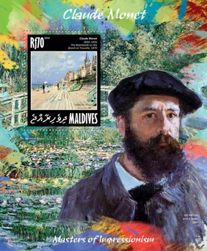 [Paintings - Masters of Impressionnism - Claude Monet, 1840-1926, Typ ]