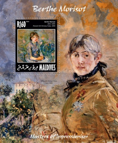 [Paintings - Masters of Impressionism - Berthe Morisot, 1841-1895, Typ ]