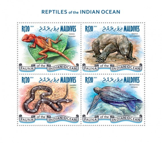 [Fauna - Reptiles of the Indian Ocean, Typ ]