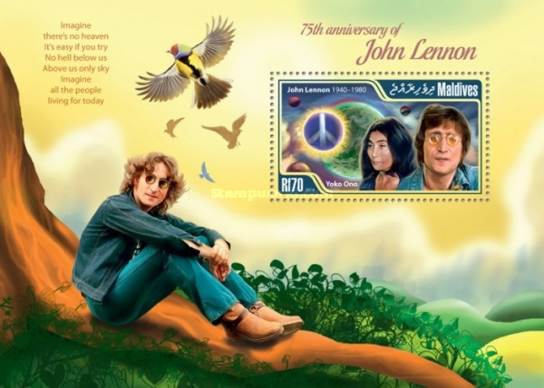 [The 75th Anniversary of the Birth of John Lennon, 1940-1980, Typ ]