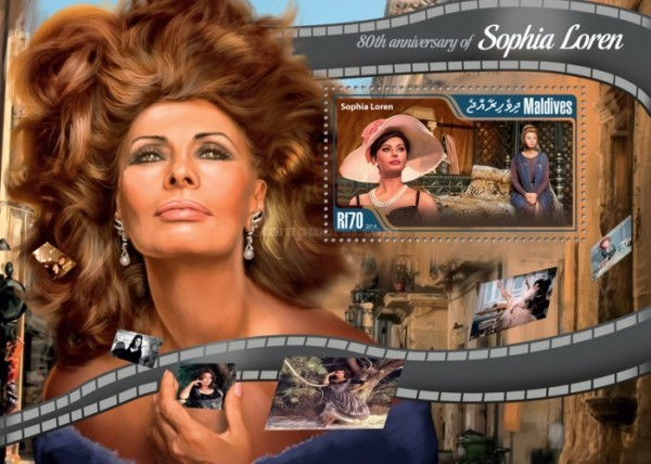 [The 80th Anniversary of the Birth of Sophia Loren, Typ ]