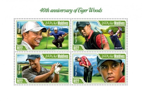 [Sports - The 40th Anniversary of the Birth of Tiger Woods, Typ ]