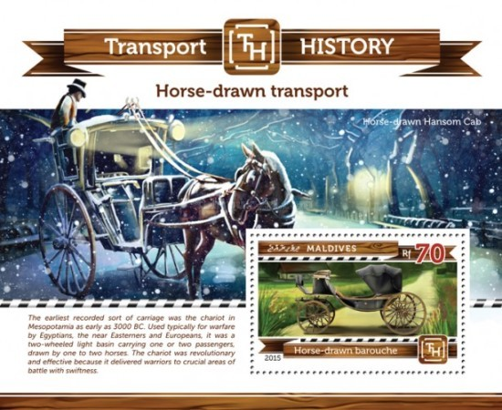 [Transport History - Horse-Drawn Carriage, Typ ]