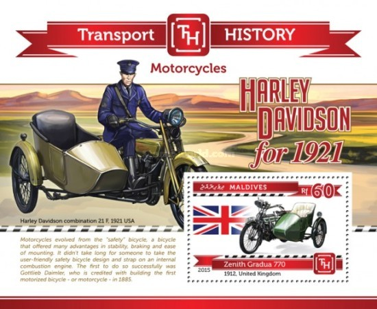 [Transport History - Motorcycles, Typ ]