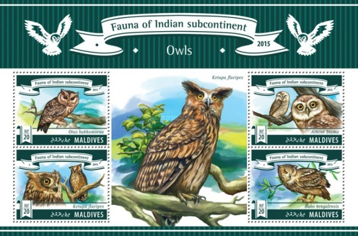 [Fauna of Indian Subcontinent - Owls, type ]